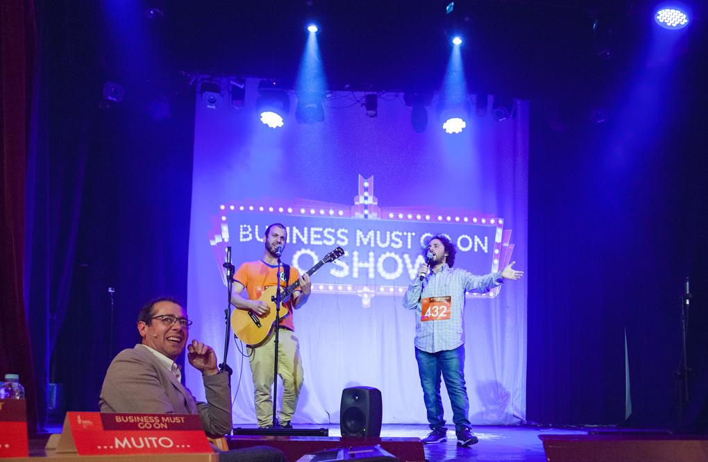 Antestreia do Show - Business Must Go On